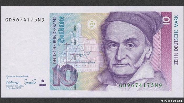 10 mark note (Public Domain)