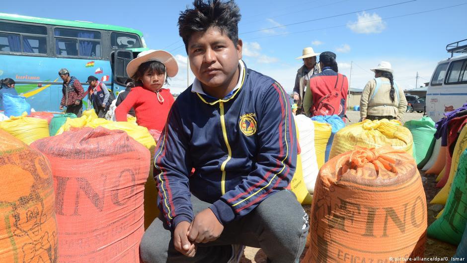 Bolivien Der Fluch des Quinoa-Rausches (picture-alliance/dpa/G. Ismar)
