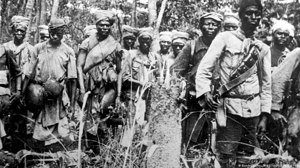 یک میلیون نفر از مردم آفریقا در حمل جنگافزار کشورهای درگیر در جنگ شرکت داشتند