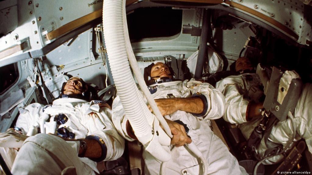 USA Apollo 8 - Astronautencrew (picture-alliance/dpa)